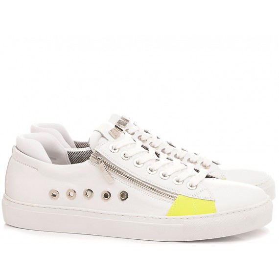 Paciotti 4US Scarpe-Sneakers Basse Uomo Bianco