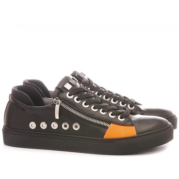 Paciotti 4US Scarpe-Sneakers Basse Uomo VVLU3TSZ Nero