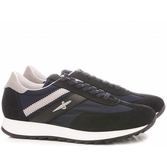 Paciotti 4US Scarpe-Sneakers Basse Uomo VVJU1TCA Navy