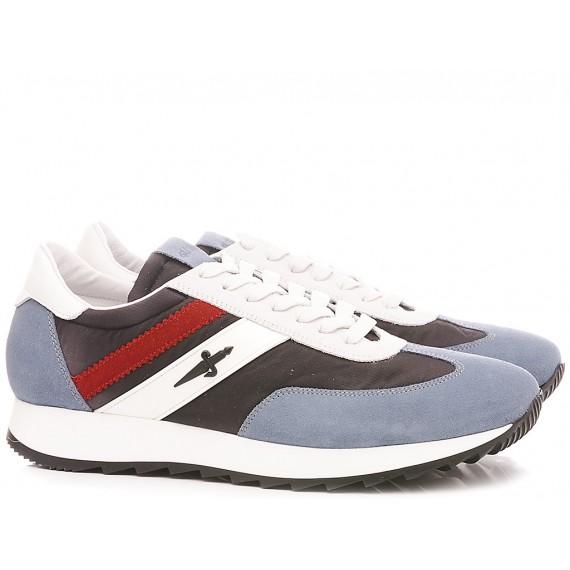 Paciotti 4US Scarpe-Sneakers Basse Uomo VVJU1TNY Azzurro