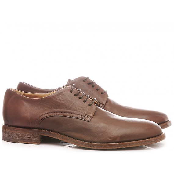 Moma Men's Shoes Leather Brown 2AS019-LU