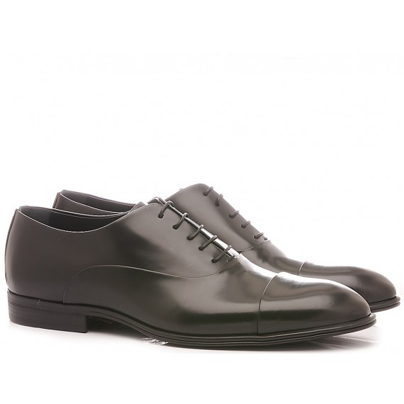 Corvari Men's Elegant Shoes Black Dover 3504