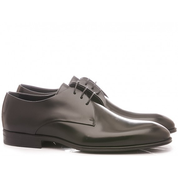 Corvari Men's Elegant Shoes Black Wembley 3501