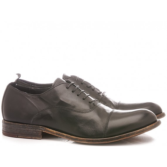 Moma Men's Shoes Leather Black 2AS057-CA