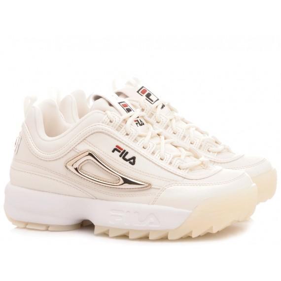 Fila Sneakers Donna Disruptor Mesh Wmn Bianco