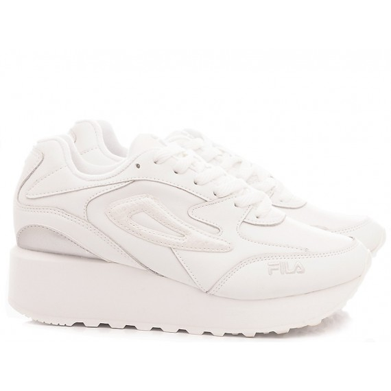 Fila Sneakers Donna Doroga Zeppa Wmn Bianco