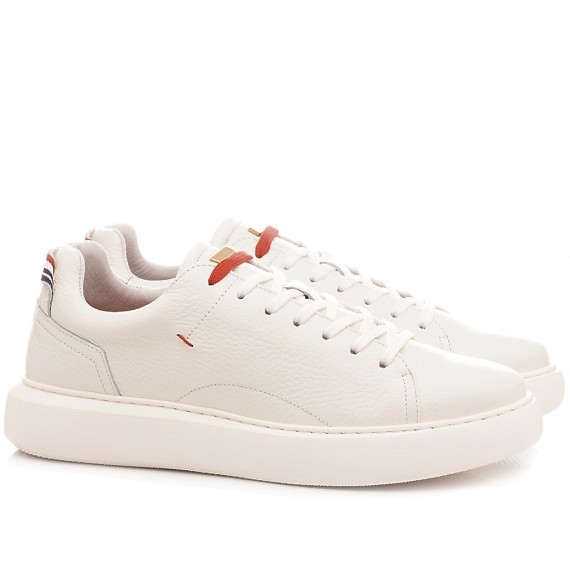 Ambitious Men's Sneakers Leather White 10443-4226AM1