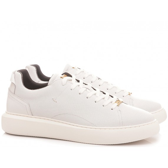 Ambitious Men's Sneakers Leather White 8321-4838AM1