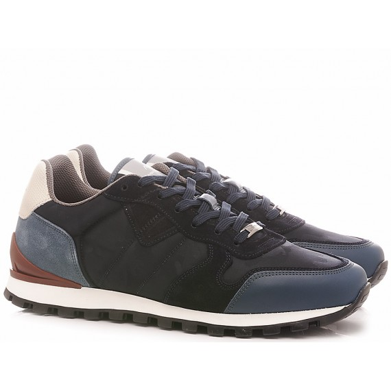 Ambitious Sneakers Uomo Pelle Navy 8061-4650AM4