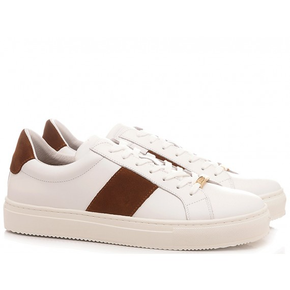 Ambitious Men's Sneakers Leather White 10529-3985AM1