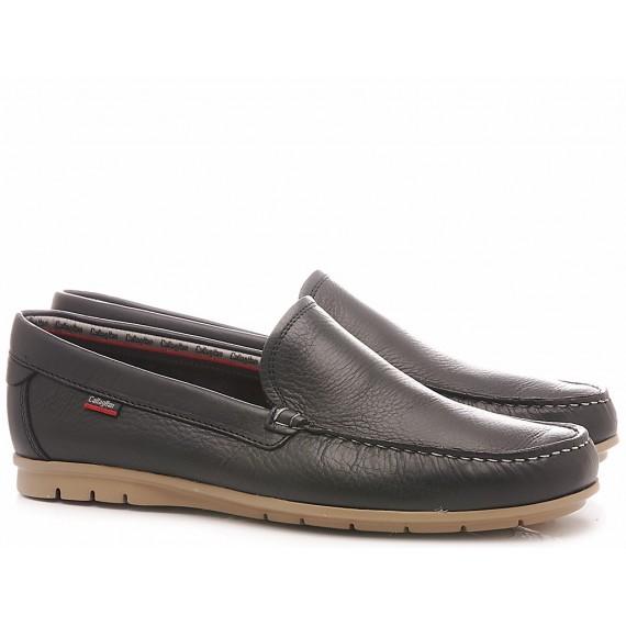 Callaghan Herren Slipper Schuhe 85100 Blau Farbe