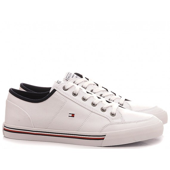 Tommy Hilfiger Men's Sneakers Core Corporate White