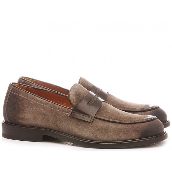 Rossi Men's Shoes Loafers Silverstone Bisonte 7631FI