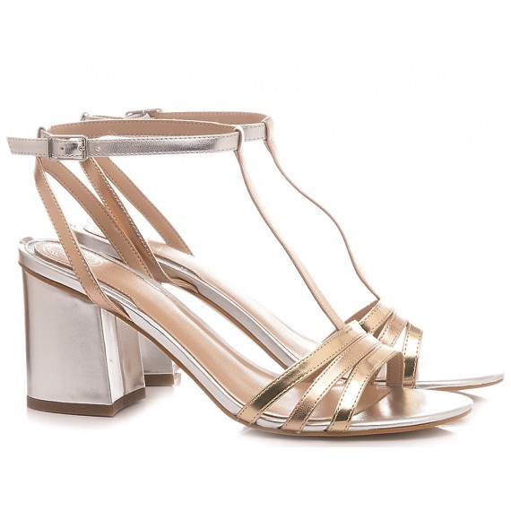 Guess Women's Shoes-Sandals Gold