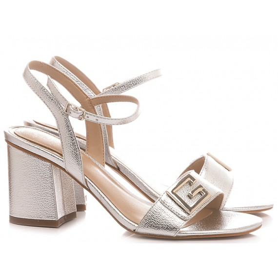 Guess Women's Shoes-Sandals Silver