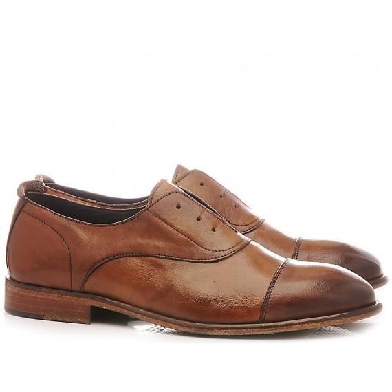 Exton Men's Shoes Leather 5363 Camel