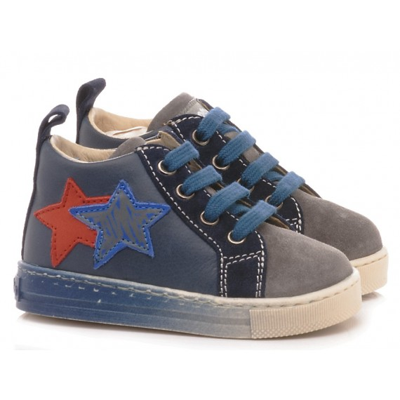 Falcotto Children's Kinderschuhe Stellar Blau