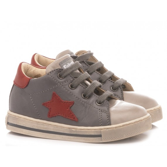 Falcotto Children's Kinderschuhe Sirio Grau