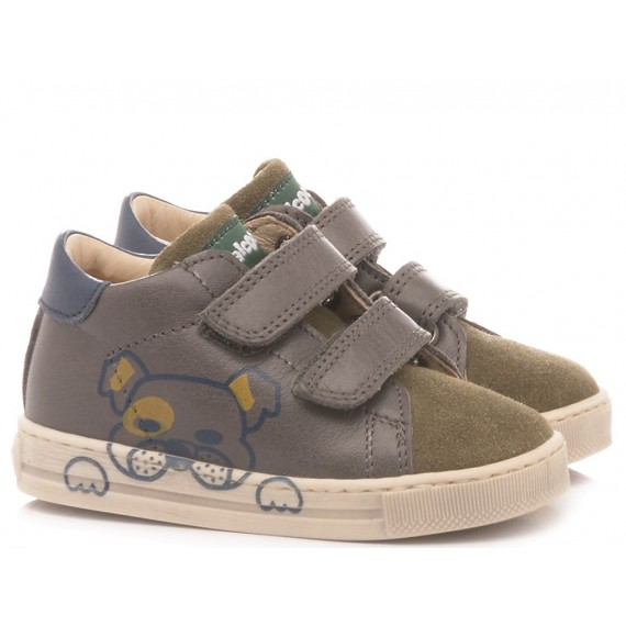 Falcotto Children's Kinderschuhe Sam Militärgrün