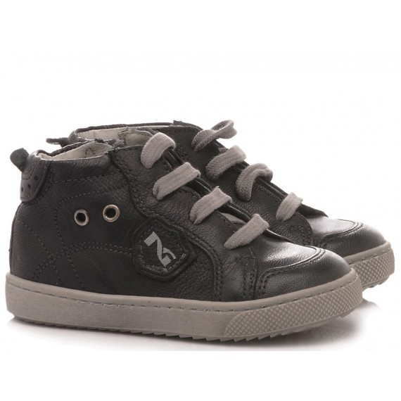 Nero Giardini Children's Shoes Sneakers Leather Blu