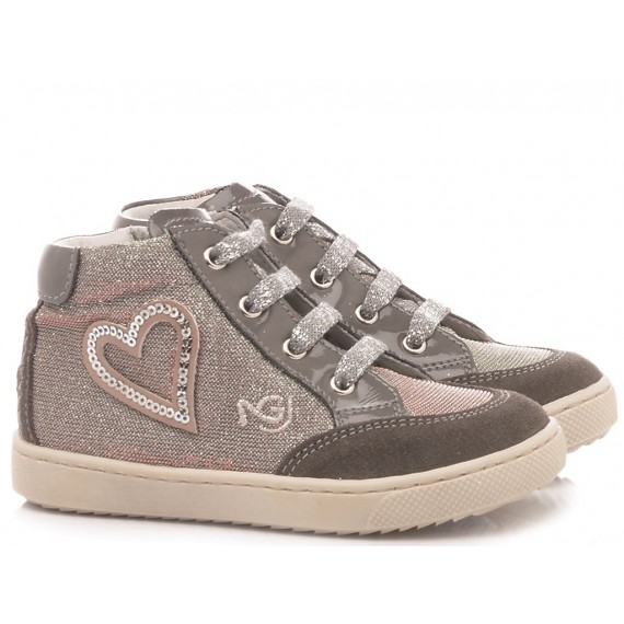 Nero Giardini Children's Shoes Sneakers Leather Grey