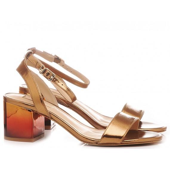 Liu.Jo Women's Sandals Thelma 01 Metallic Brass