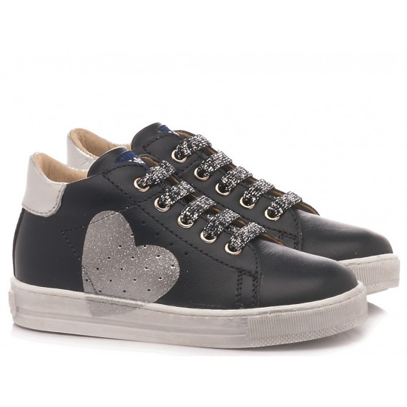 Falcotto Children's Shoes Sneakers Heart Blu