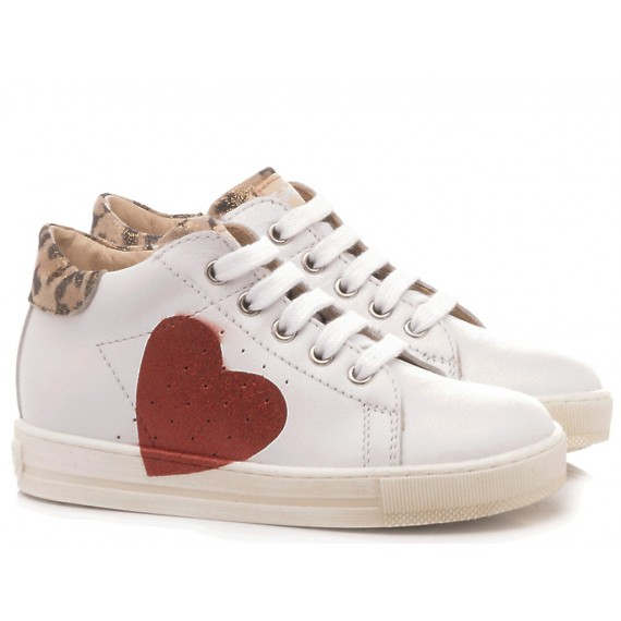 Falcotto Children's Kinderschuhe Heart Weiß
