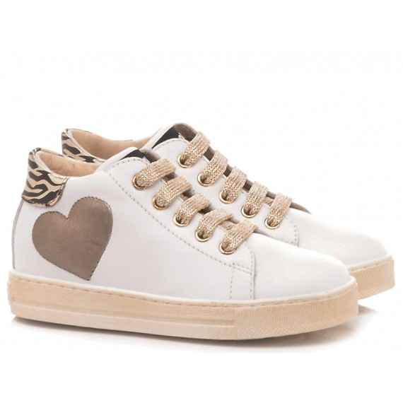 Falcotto Children's Shoes Sneakers Breanna White