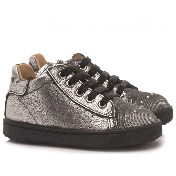 Falcotto Children's Shoes Sneakers Stone Steel