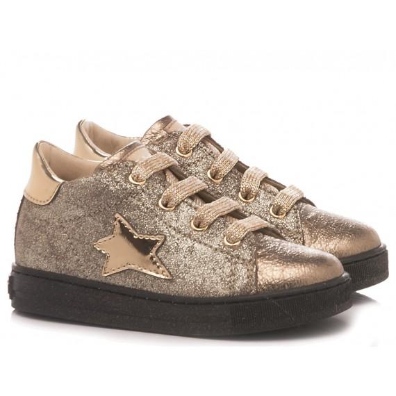 Falcotto Sneakers Bambina Sirio Platino