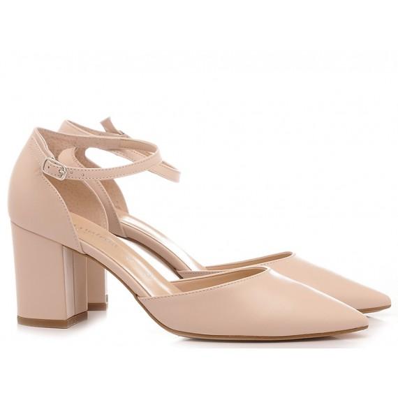 Les Autres Women's Shoes Leather Nude 1358