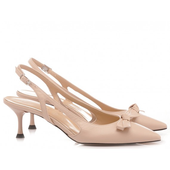 Les Autres Damen Schuhe Leder Nackefarbe 576