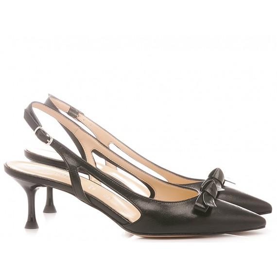 Les Autres Damen Schuhe Leder Schwarz 576