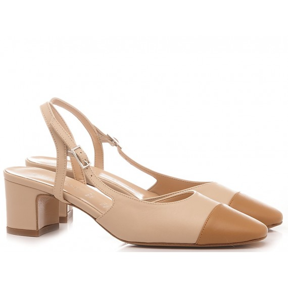 Les Autres Women's Shoes Chanel Leather Nude-Nut 424