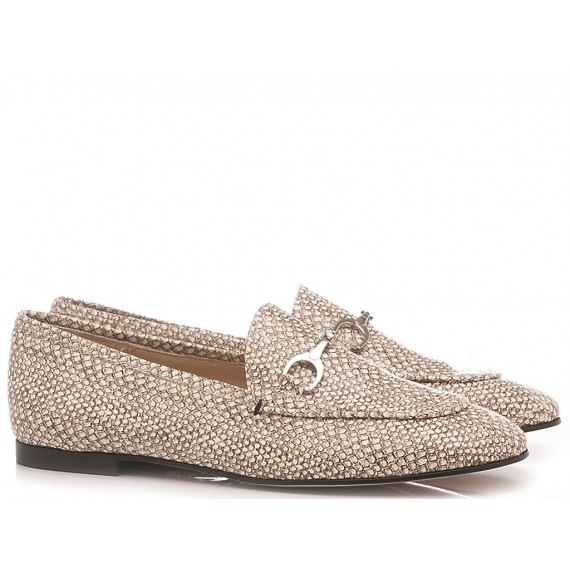 Les Autres Women's Loafers Leather Sand 4002