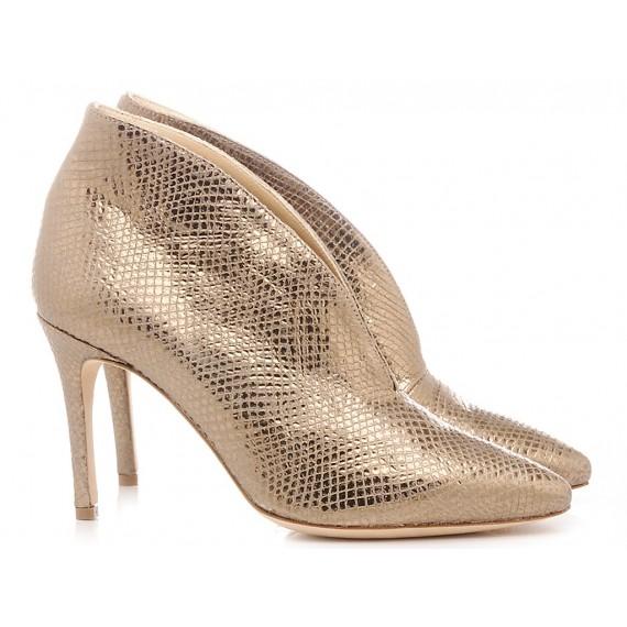 L'Arianna Damenstiefeletten Gold TR8008