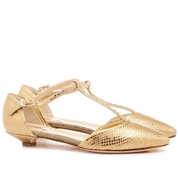 L'Arianna Women's Shoes Mekong Gold TG1110