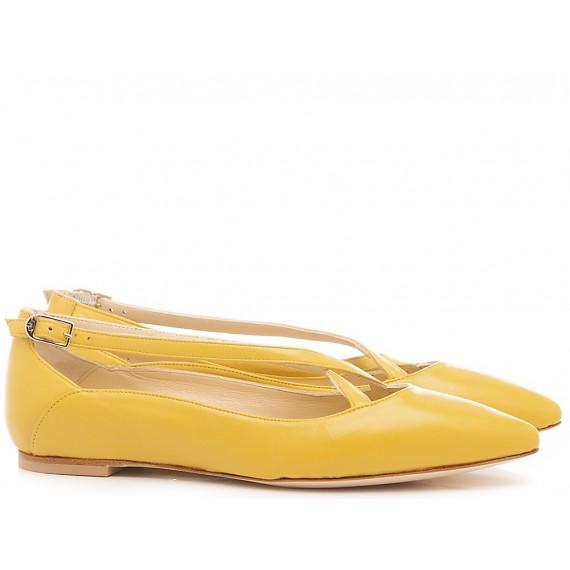 L'Arianna Women's Shoes Siviglia Yellow BL1218
