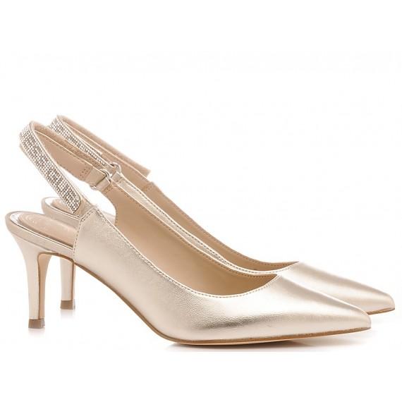 Guess Scarpe Chanel Donna Platino