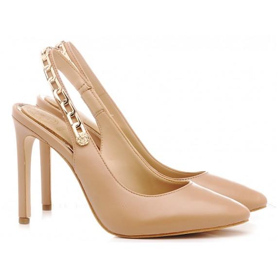 Guess Scarpe Chanel Donna Nudo