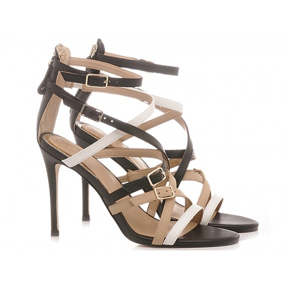 Guess Women's Shoes-Sandals Multicolor