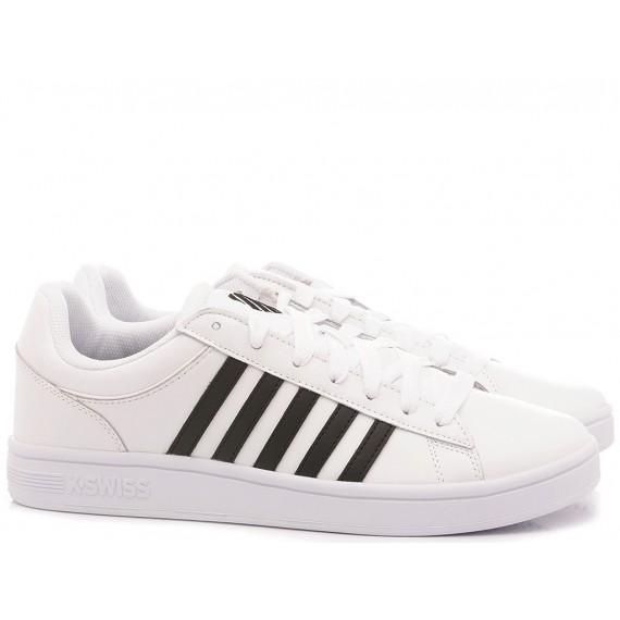 K.Swiss Men's Sneakers Court Winston White-Black 06154-102-M