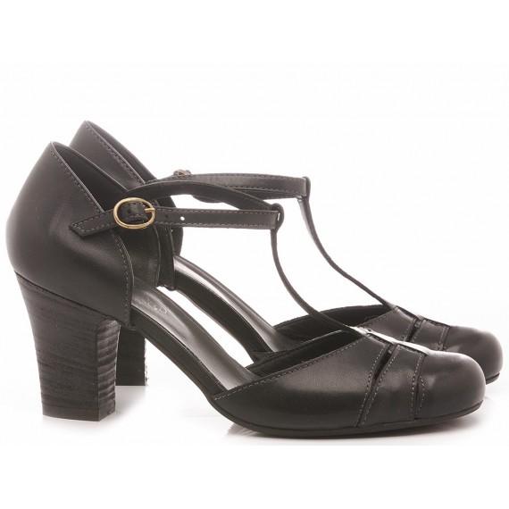MAT:20 Women's Shoes Leather Black 1611