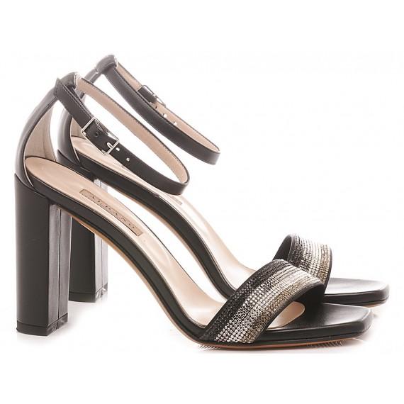 Albano Women's Sandals Soft Black 4153