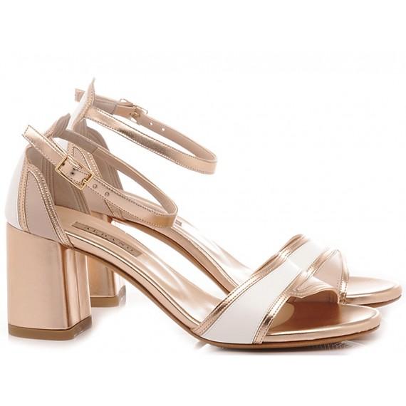 Albano Women's Sandals Metal Copper 4147