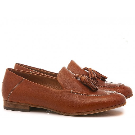 MAT:20 Women's Loafers Leather Brown 3394