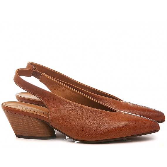 MAT:20 Women's Shoes Chanel Leather Brown 5320