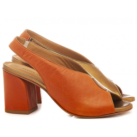 Poesie Veneziane Women's Shoes Sandals Leather Old Gold K19DL