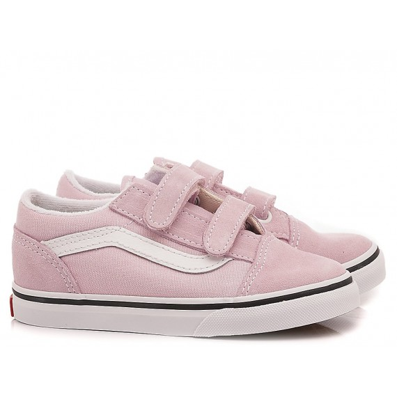 Vans Sneakers Bambina Old Skool V Pink